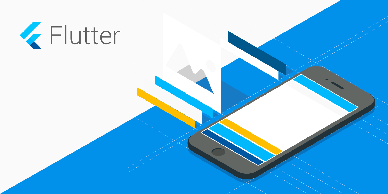 Building iOS and Android applications using Flutter SDK by Google